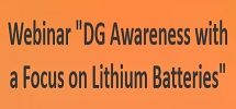 """Webinar On """"DG Awareness with a Focus on Lithium Batteries"""